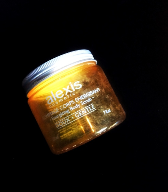 Alexis cosmetics energizing body scrub
